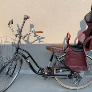 子供乗せ自転車 OGKシート付き