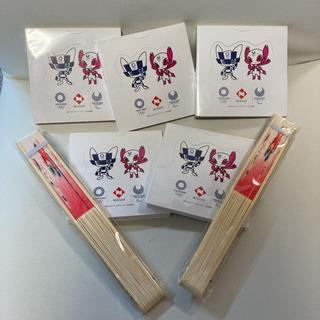 オリンピック 扇子 ボールペン