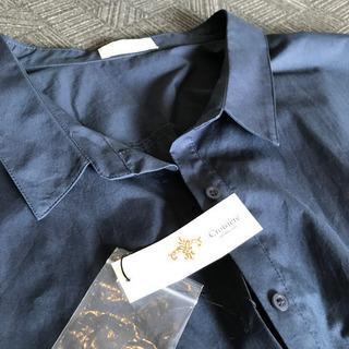 ネイビーシャツ 新品♫値下げ!