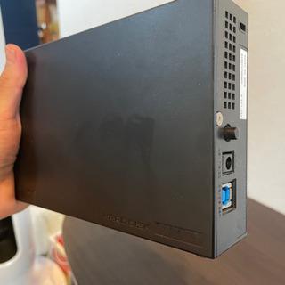 【中古美品】I-O DATA HDD 外付けハードディスク 3T...