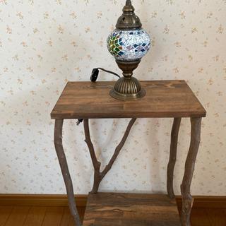 サイドテーブル 花台