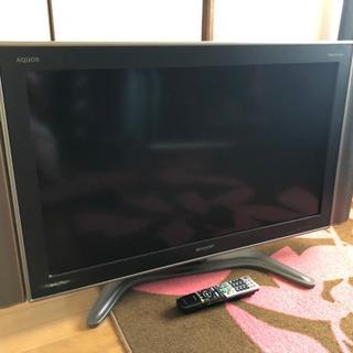 SHARP AQUOS デジタルハイビジョン 37インチ テレビ