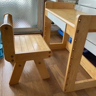 【ネット決済】椅子と机のセット