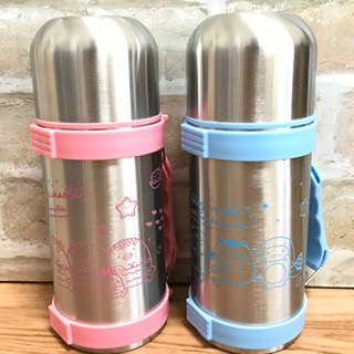 すみっコぐらし ステンレス 携帯 魔法瓶 保冷 保温 水筒 2セット