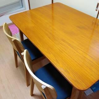 中古 ダイニングテーブル&チェア