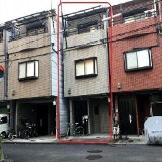 🟪売物件◆3階建て戸建て🟪 ◆今里駅 徒歩4分◆1階ガレージ◆5...