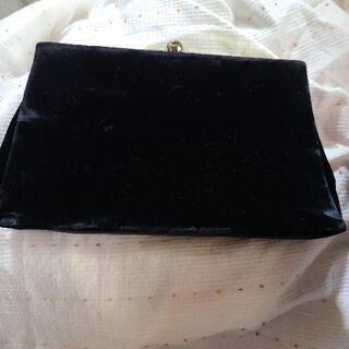 ベルベットのショルダーバッグ