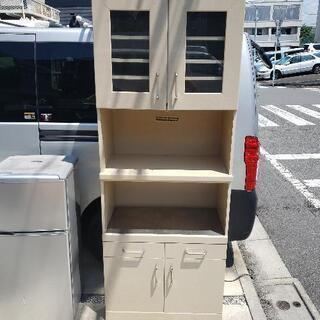 パモウナ キッチンボード 幅80×奥行46×高さ210cm
