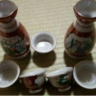九谷焼 酒器 徳利 お猪口 永楽