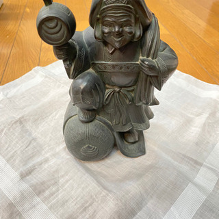 【ネット決済】大黒天 置物 陶器 美品✨