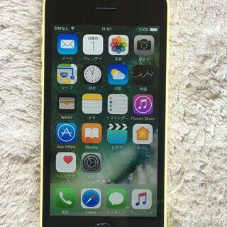 iPhone 5c  yellow きれいでかわいい