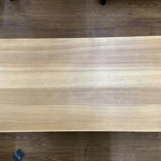 【ネット決済】ローテーブル 無印良品  引き出し付 ライトブラウン