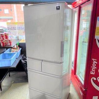 冷蔵庫 SHARP SJ-PW38W-S 2012年製 3…