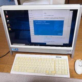 【ネット決済】NECの一体型PC-VN770AS1BW完動品
