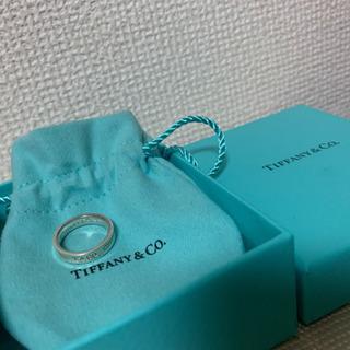 【ネット決済】ティファニー スターリングシルバー1837リング