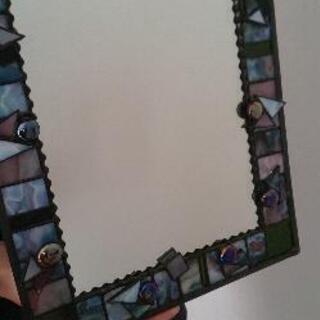 ステンドグラス鏡