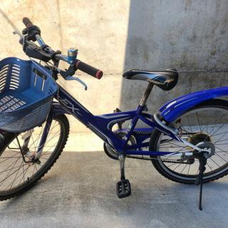 ⭐️子供用自転車 ブリヂストン22インチ ブルー&ホワイト⭐️