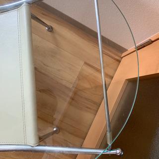 ☆ガラスのローテーブル☆ - 家具