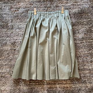 【定価1万円程度、新品未使用】若草色スカート