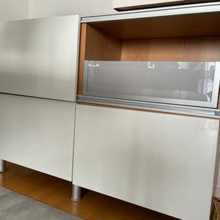 IKEA イケア ベストー キッチンカウンター収納