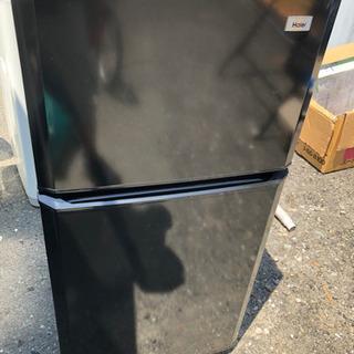 ハイアール 冷凍冷蔵庫 106L  ブラック