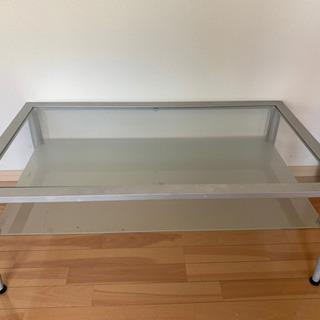 ガラス製 ダイニングテーブル