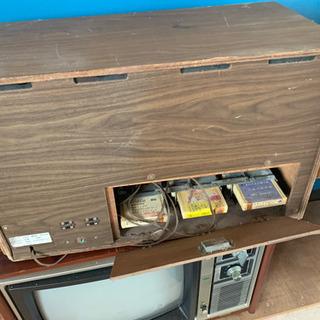 4トラの 機械と ブラウン管TV