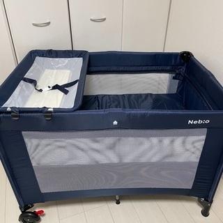 折り畳みベビーサークル、プレイヤード、お昼寝ベッド