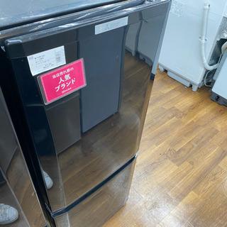三菱2ドア冷蔵庫 2017年製