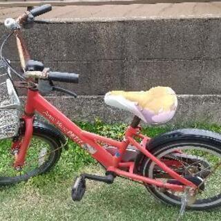 【ネット決済】16インチの子供自転車