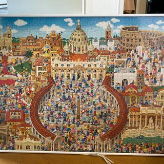 26年前にイタリアで買ったパズルです