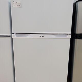 Haier ハイアール 2ドア冷蔵庫 JR-N91K 2016年...