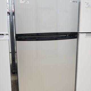 エスキュービームス 2ドア冷蔵庫 WR-2090SL 2017年...