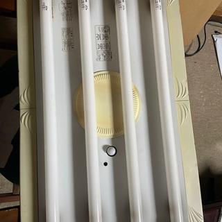 ジャンク 蛍光灯器具 点灯はしました。
