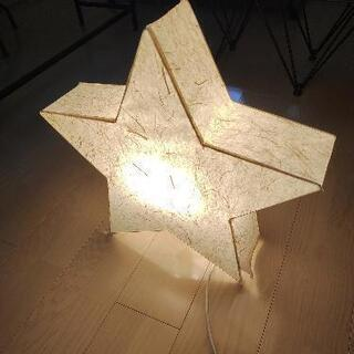 IKEA 間接照明 星形
