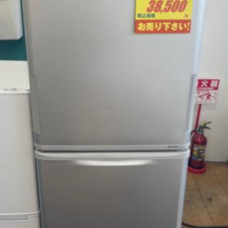 SHARP製★2017年製3ドア冷蔵庫★6ヵ月間保証付き★近隣配送可能