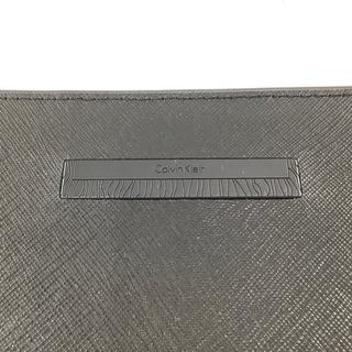 Calvin Klein ダブルファスナーハンドバッグ  ブラックカラー   - 土岐市