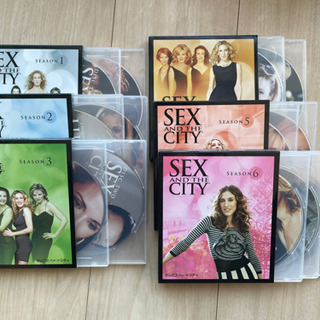 【DVD】sex and the city 全巻