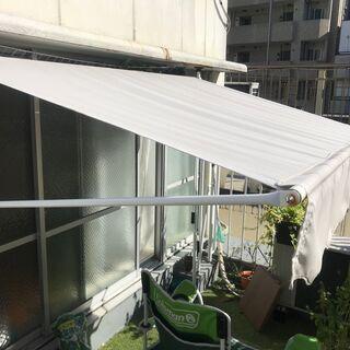 つっぱりオーニングテント