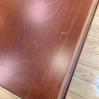 ⭐️8/24 値下げ⭐️マルチボード サイドボード 飾り棚 テーブル スタッズ レザー アンティークビンテージStyle - 家具