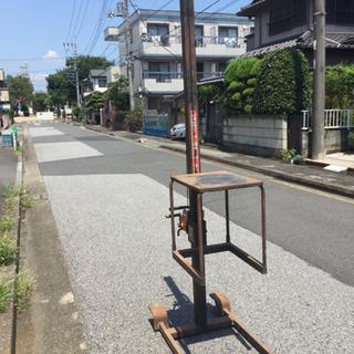 配達可 TASCO/タスコ 100kg 組立式手動リフター TC...