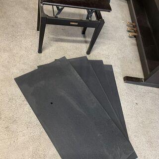 YAMAHA 電子ピアノ CLP-411 グラビノーバ 96年製 椅子 マット付 格安 配送OK 2F以上要相談 引き取り歓迎 - 売ります・あげます