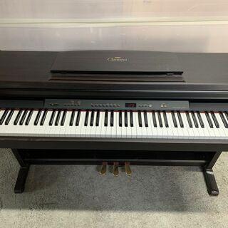 YAMAHA 電子ピアノ CLP-411 グラビノーバ 96年製 椅子 マット付 格安 配送OK 2F以上要相談 引き取り歓迎の画像