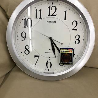 未使用 リズム 電波時計