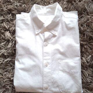 無印良品 白シャツ 半袖 S