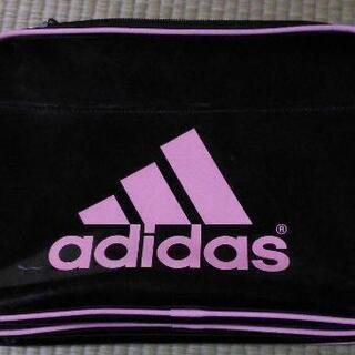 adidas エナメルバッグ