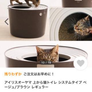 上から猫トイレ アイリスオーヤマ