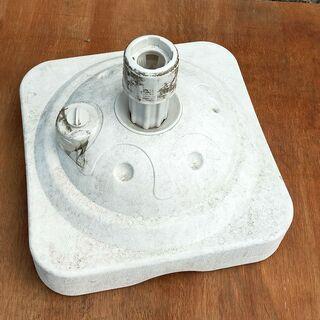 タンク式のぼり用ベース 3個まとめて ポールスタンド 現状品