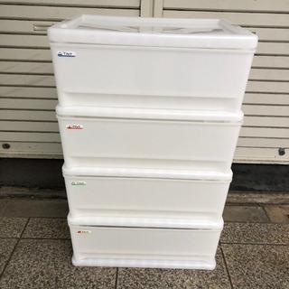 引き出し収納ボックス 4段