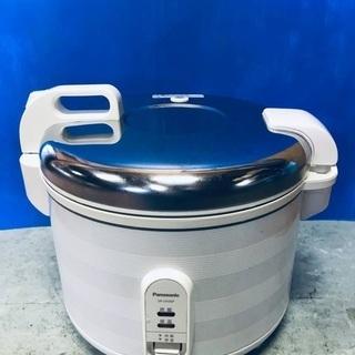 ♦️EJ352番Panasonic ジャー炊飯器 【201…